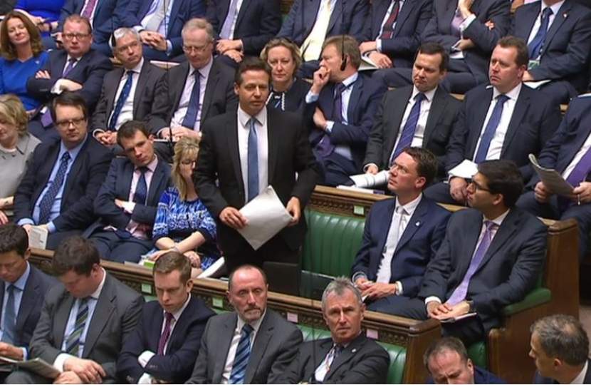 Nigel Huddleston asking PMQ on23rd May 2018